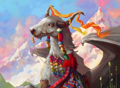 Dracobos Tibetica - Djak Domácí